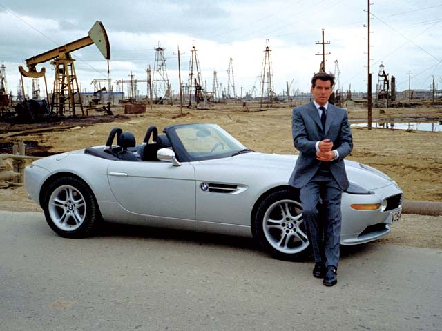 Bmw Z8 The James Bond International Fan Club