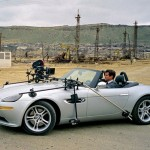 BMW Z8 with front camera mount