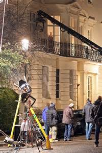 SPECTRE filming in Notting Hill