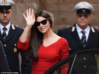 Monica Bellucci in Rome
