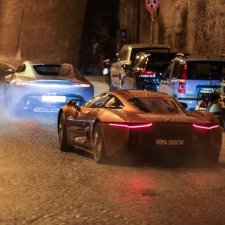 Spectre Rome car chase filming-225