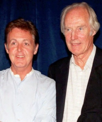 George Marion with Paul McCartney