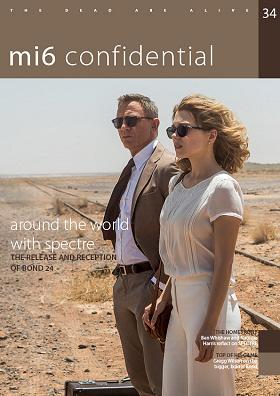 Mi6 Confidential issue 34 cover