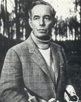 Author Peter Fleming in his later years