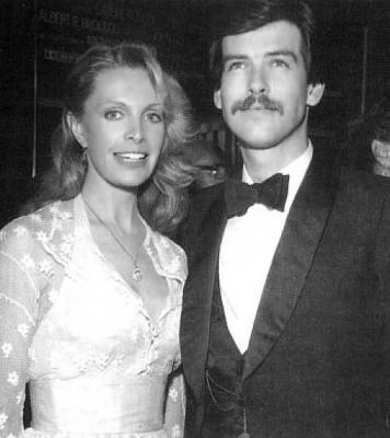 Cassandra Harris with husband Pierce Brosnan