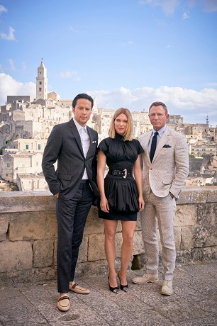 Welcome to Matera, Mr. Bond