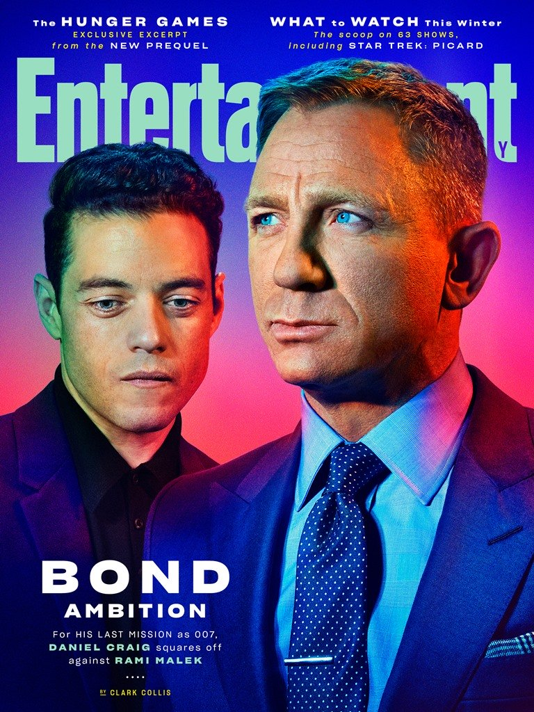 Bond in Entertainment Weekly
