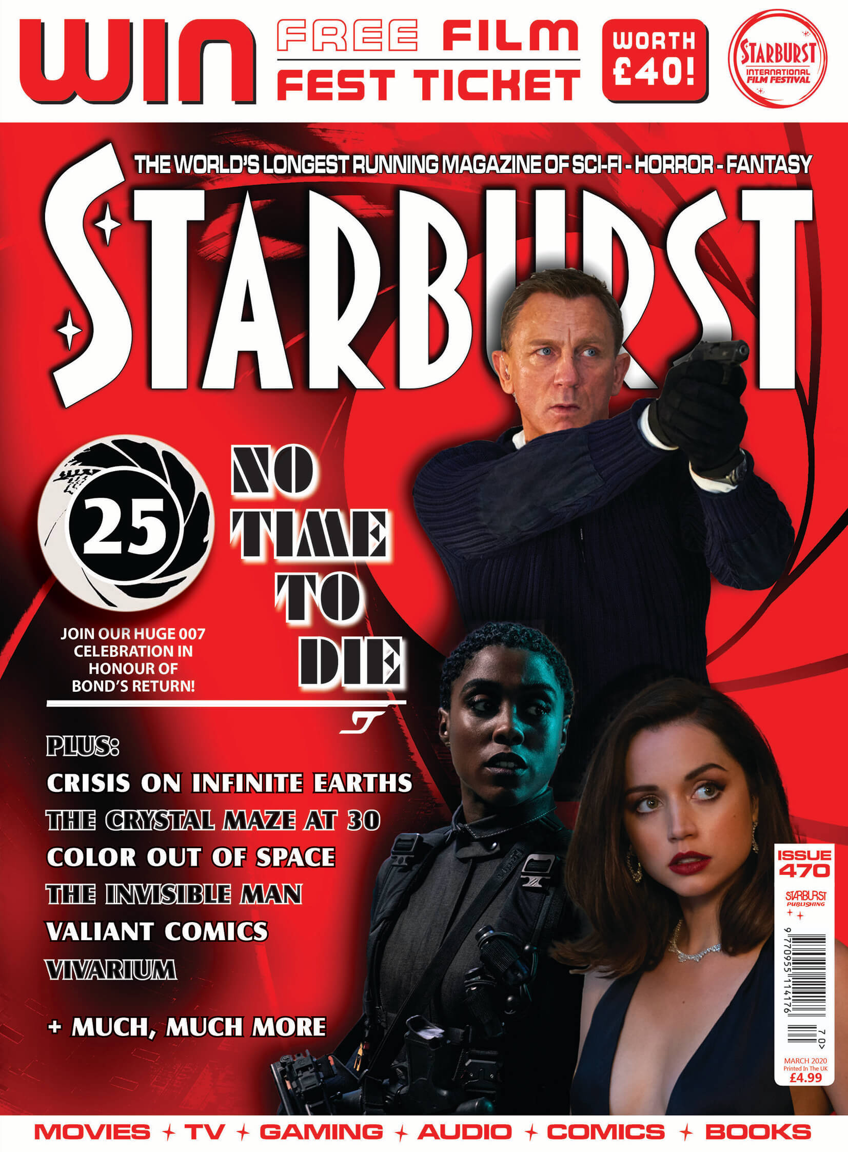New issue of 'Starburst' mag is James Bond special
