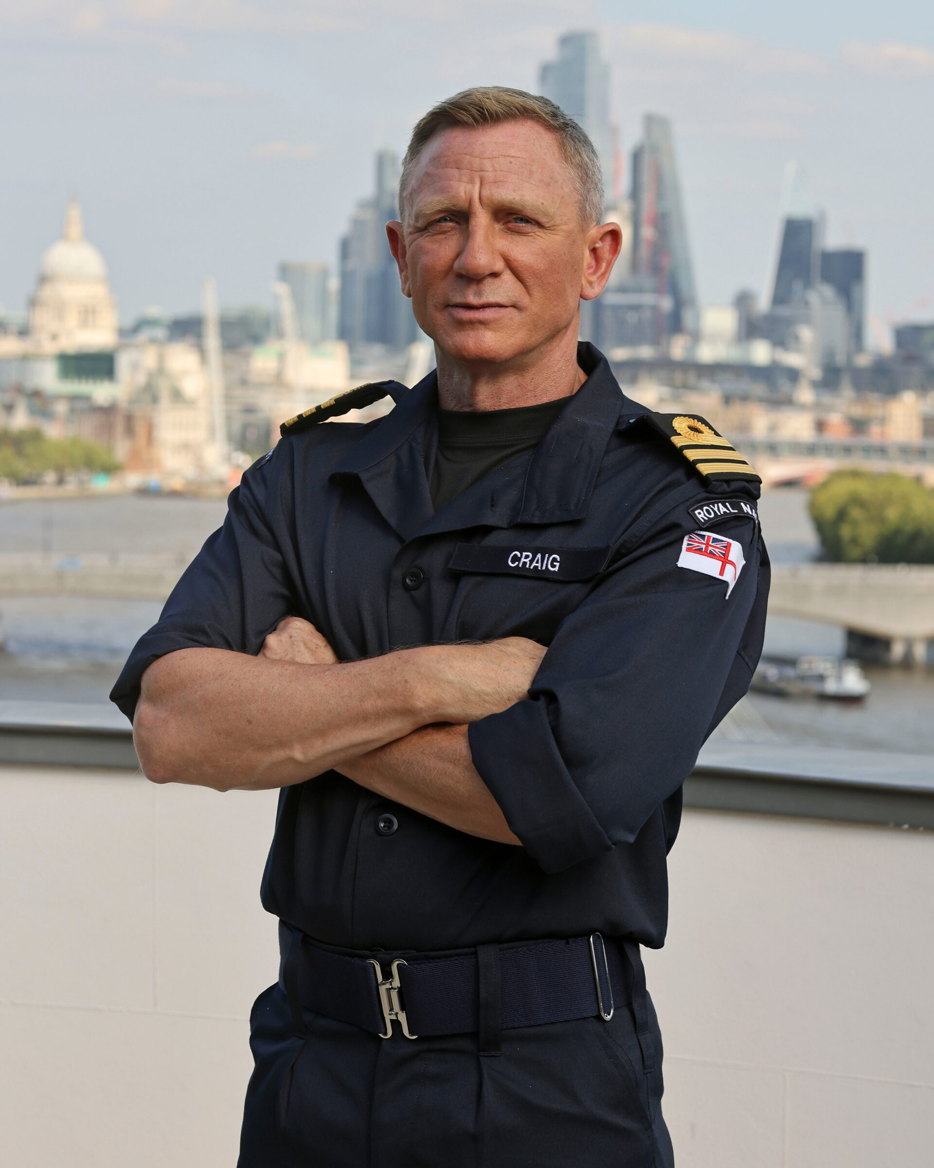 On Her Majesty's Naval Service: Craig awarded Bond's RN rank