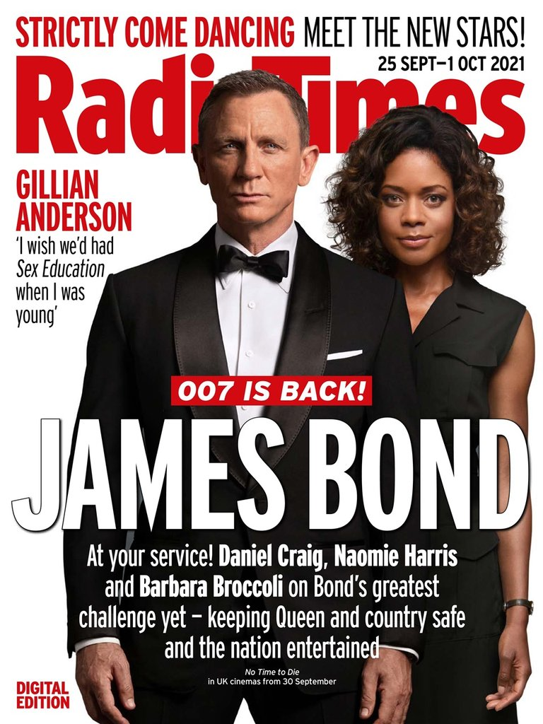 Bond unpacked: New issue of 'Radio Times' has 007 interviews